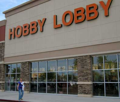 Hobby Lobby, the whole reason for visiting Phoenix