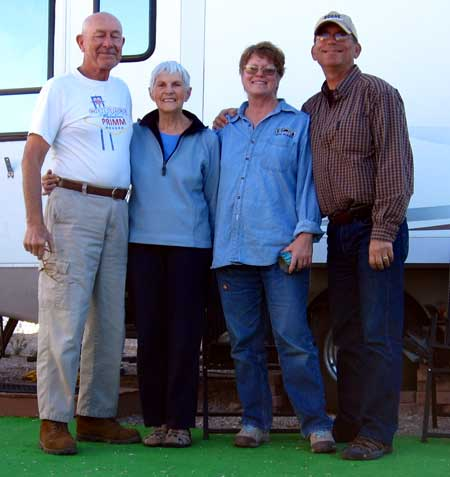 We visit our friends Eddie and Ruby in Quartzsite