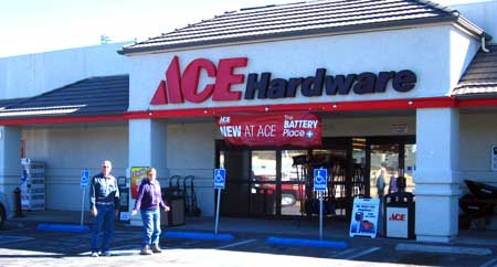 Payson Ace Hardware, where our day began