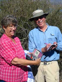 Ralph and Janet find the cache