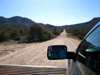 The Apache Trail is not paved