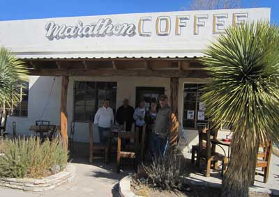 Marathon Coffee in Marathon, Tx