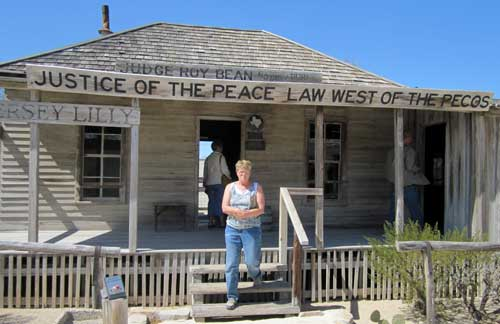 Judge Roy Bean Museum in Langtry, TX