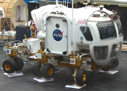 The new lunar rover