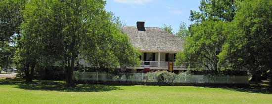 The Kent House Plantation from the front