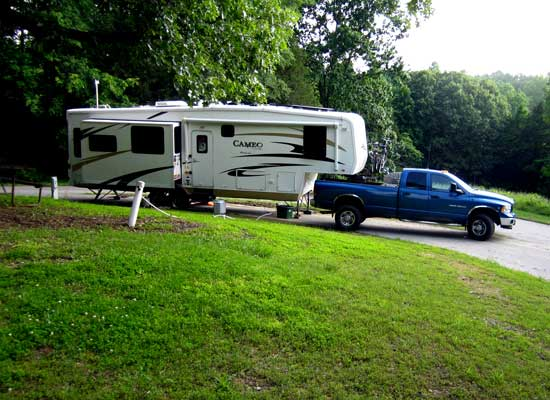 The most difficult of camping locations at Barren River Lake State Resort, KY