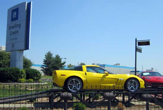 A visit to the Bowling Green Corvette Assembly Plant