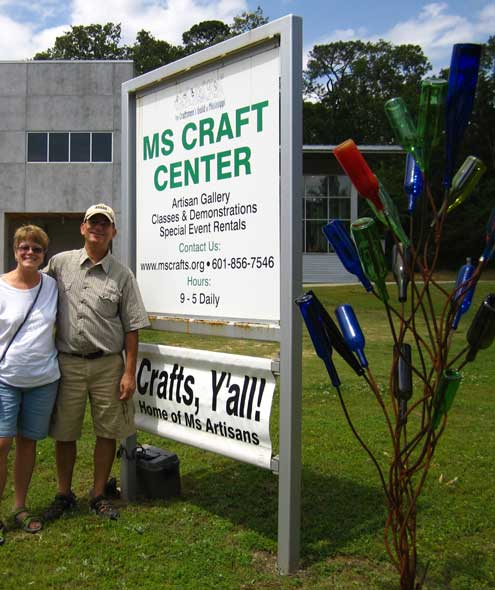 Great crafts and art at the Mississippi Craft Center