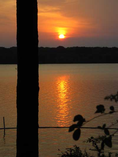 Sunset of the Tennessee Tombigbee Waterway