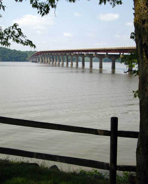 The Natchez Trace over the Tennessee River