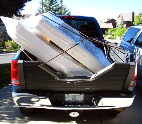 Moving a queen bed from Reno, NV to Lodi, CA