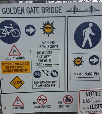 Let's hike across the Golden Gate