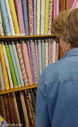 Gwen visits two quilt shops