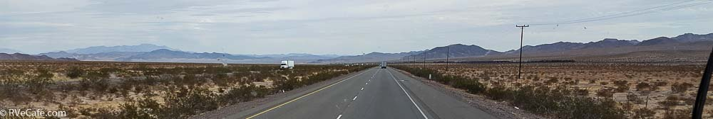 Traveling through the Mohave Desert