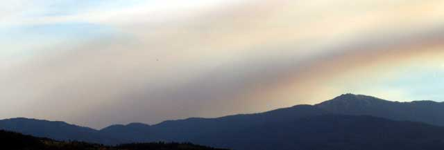 Northern California Forest Fire