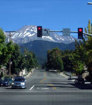 Mt. Shasta at the end of the road