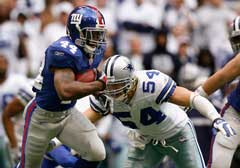 New Yourk Giants vs Dallas Cowboys playoff