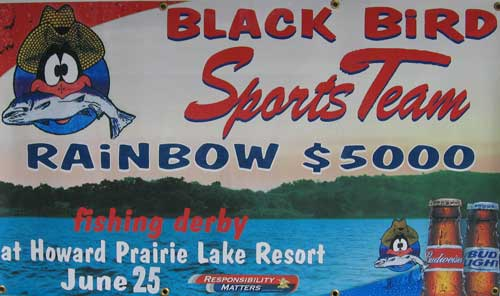 Black Bird Rainbow $5000 Fishing Derby