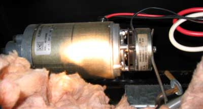 Slide Motor with Brake Attached