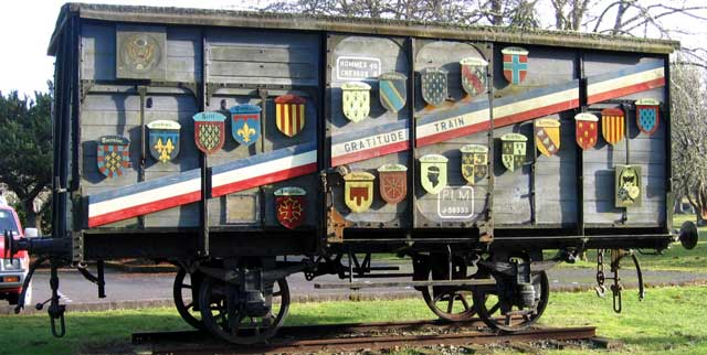 Boxcar: a WWII gift from the French