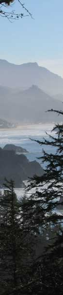 Toward Cannon Beach and Hay Stack Rock