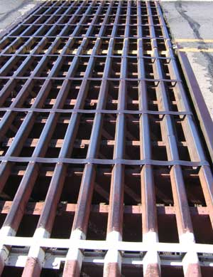This is a Cattle Guard