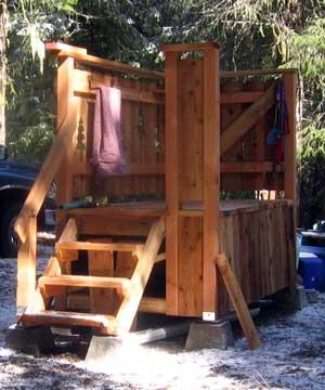 Build A Cedar Deck For Your Rv