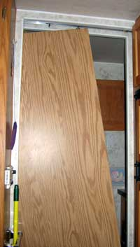Repair This Pocket Door