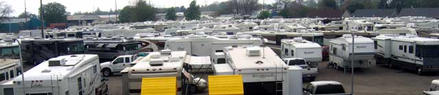 A sea of trailers