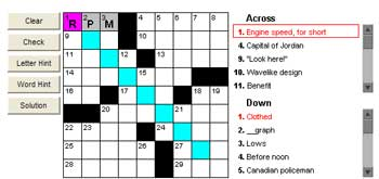 Click for crossword puzzles