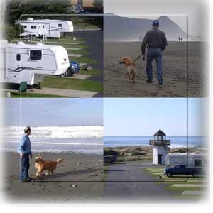 Ireland's RV park Gold Beach