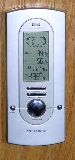 "The ""RF-Tech"" weather station"