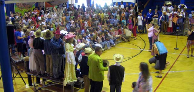 Altamont School in Klamath Falls Final Assembly for parents day