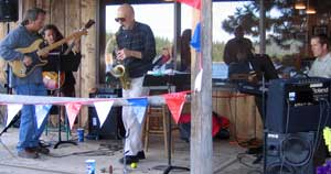 Chiloquin Mountain Jazz Band performs at Hyatt Lake every weekend
