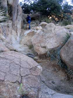 Rocky trail in the Cochise Stronghold