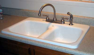 Faucet Installed