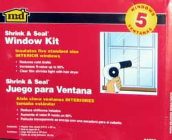 Shrink and Seal Window Kit