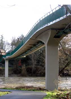 Grants Pass Walking Bridge