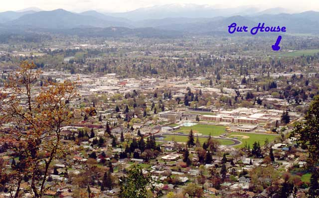 Grants Pass, looking Southwest
