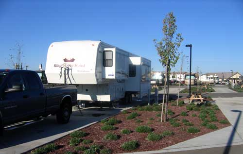 An Escapees discount park in Lodi called Flag City RV Resort
