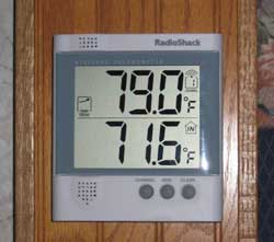 Radio Shack Indoor-Outdoor Thermometer