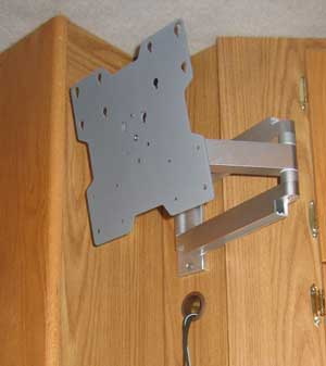 The articulated LCD TV Support Arm