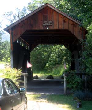 Lost Creek Covered Bridge