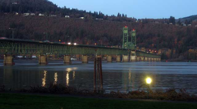 Hood River Bridge across the Columbia